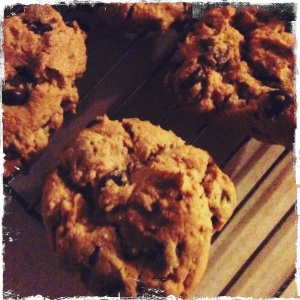 Gluten-Free Peanut Butter & Chocolate Chip Cookies