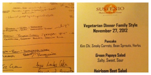 Sustenio Vegetarian Feast | The Hip Vegetarian