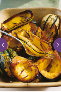 Honey Roasted Squash via Oprah.com