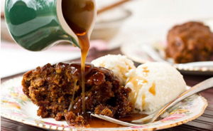 Sinless Sticky Toffee Pecan Pudding via @vegnews