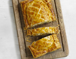 Roasted butternut & feta Wellington via BBC Good Food.
