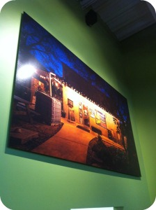 A beautiful photo of the North Flores location now hangs at The Pearl. Photo was taken by Scott Martin.