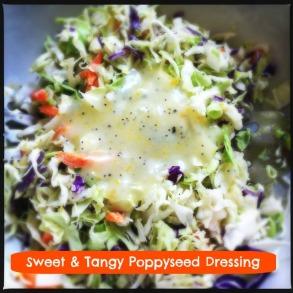 Sweet & Tangy Poppyseed Dressing | @HipVegetarian